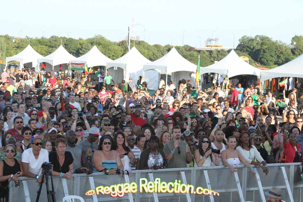 Crowd at Montreal Reggae Festival
