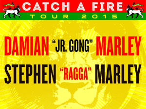 Catch a Fire Tour 2015 Stephen Marley Damian Marley