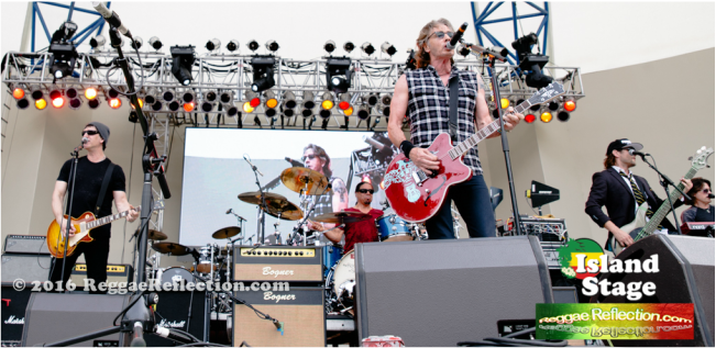 Rick Springfield and band Sunfest