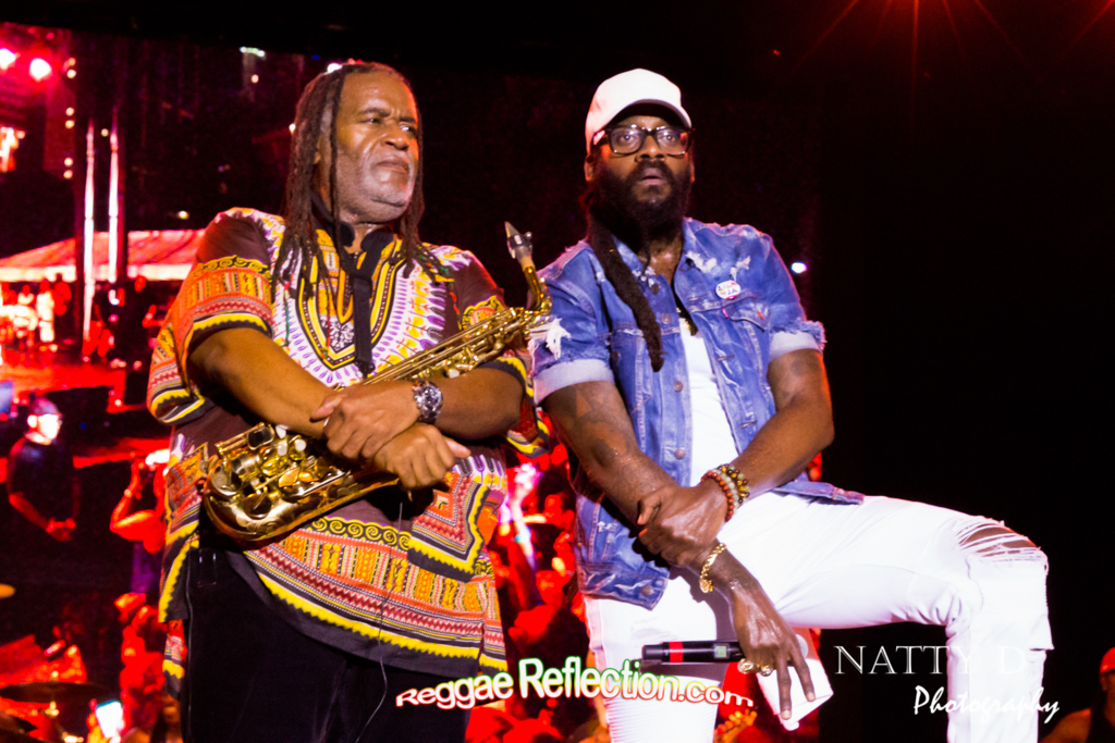 Dean Fraser and Tarrus Riley