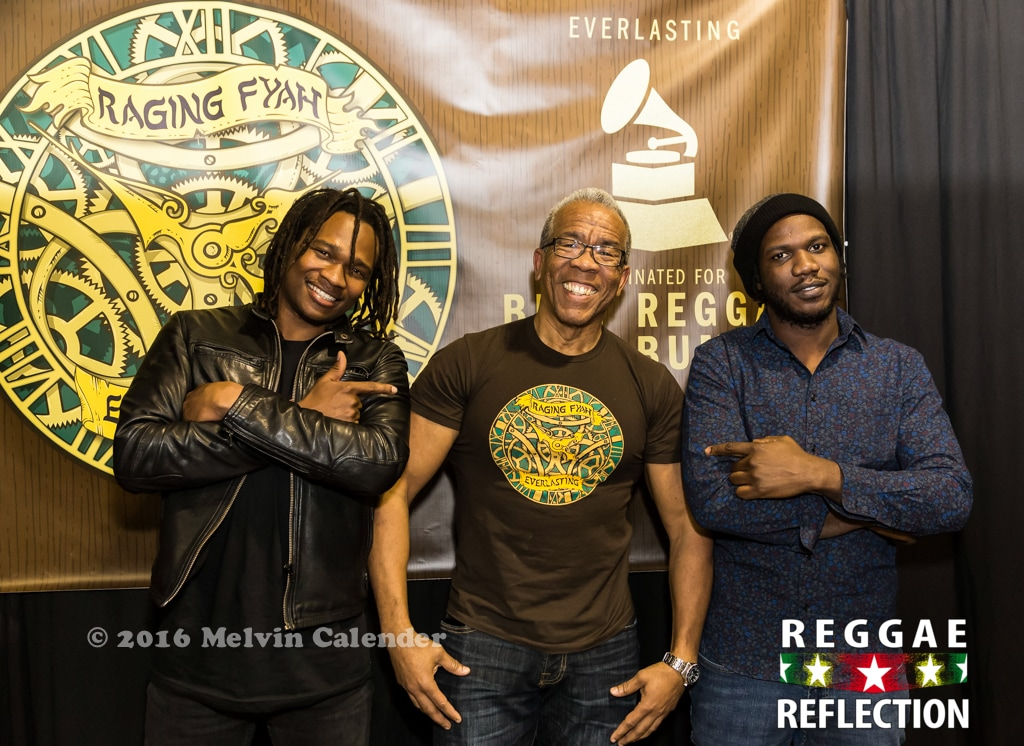 Raging Fyah and Richard Lue Vp Records