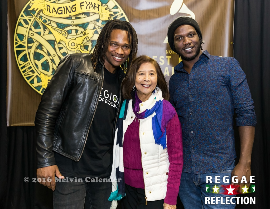 Raging Fyah and Miss Pat Chin
