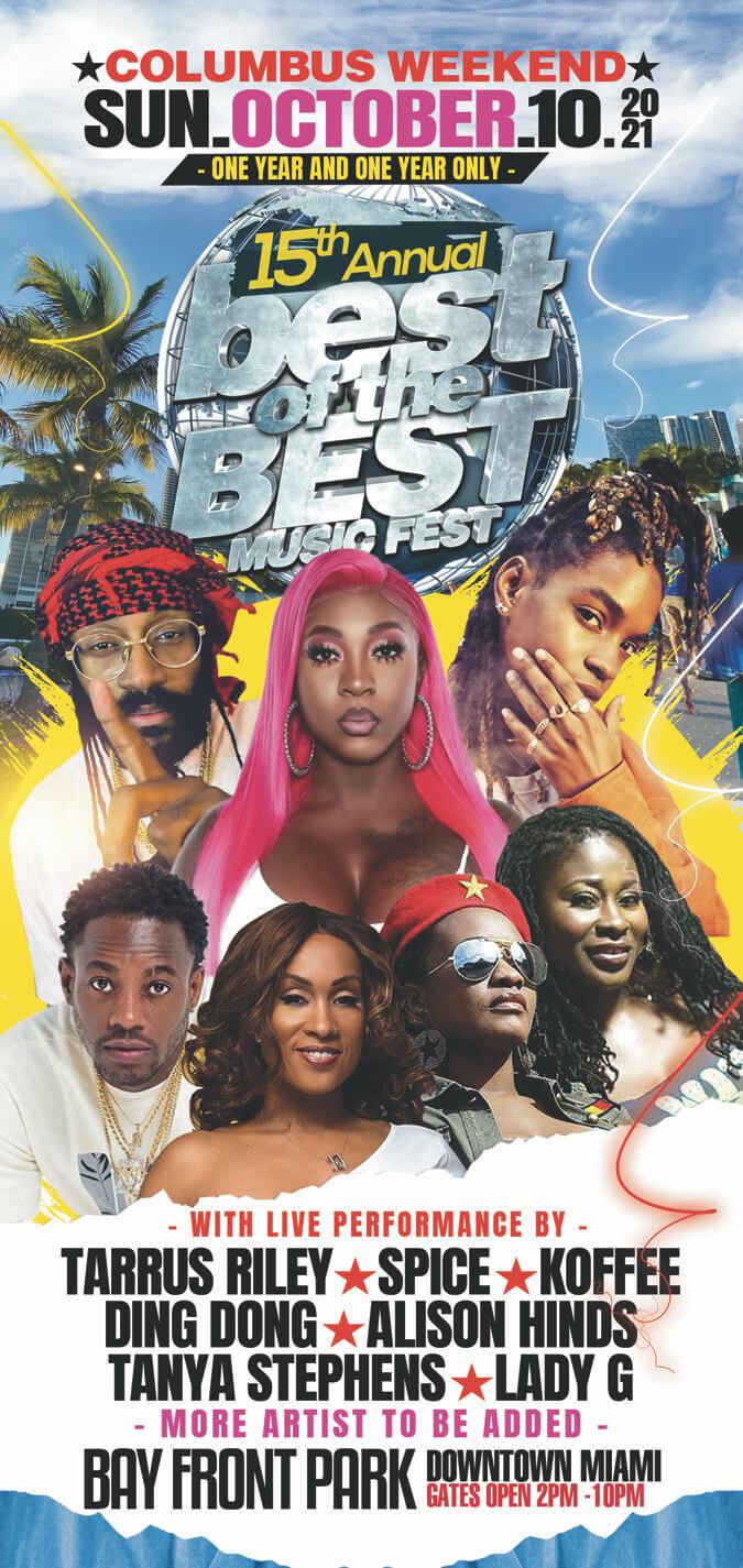 New Date - Best of the Best Music Fest 2021 - Reggae ...